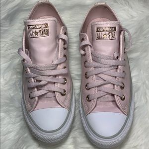 Converse All Star Pink Leather 7
